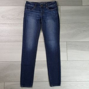 American Eagle Super Stretch Jegging Size 4 Long